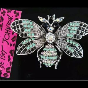 BETSEY JOHNSON~ Large Moth Pin/Pendant